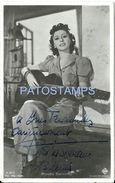 84260 ARGENTINA ARTIST ROSITA SERRANO CHILE 1914 -  1997 ACTRESS & SINGER AUTOGRAPH PHOTO NO POSTCARD - Artistes