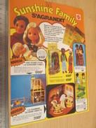 Page De Revue Des Années 70 / POUPEES SUNSHINE FAMILY MATTEL , Format  Page A4 - Autres Collections