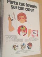 Page De Revue Des Années 70-80 / PUBLICITE TRANSFERTS A CHAUD NATACHA GASTON LAGAFFE MARSUPILAMI BUCK D, Format  Page A4 - Livres, BD, Revues