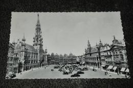 191- Bruxelles / Brussel, Hotel De Ville Et Grand Place - Cafés, Hotels, Restaurants