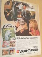 Page De Revue Des Années 60/70 / PUBLICITE VIEWMASTER FLIPPER Le Dauphin Flippant , Format  Page A4 - Autres