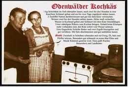 Odenwälder Kochkäs  -  Ansichtskarte Ca. 2005    (8094) - Küchenrezepte