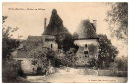 Nièvre - MOULINS-ENGILBERT - Château De Villaine - 1908 - Moulin Engilbert