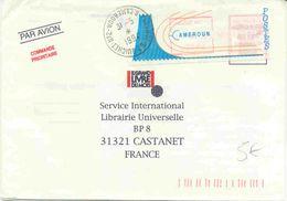 Lettre Du Cameroun Avec Vignette D'affranchissement - Camerún (1960-...)