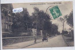 AULNAY-SOUS-BOIS- AVENUE DU CLOCHER- LE MARCHAND DE CANNES AMBULANT ET SON CHIEN - Aulnay Sous Bois