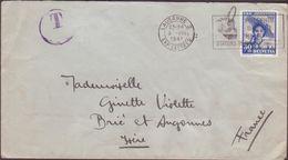 ENVELOPPE TIMBRE T.1941 LAUSANNE 2 EXP LETTRES  A BRIE ET ANGONNES ISERE VOIR PHOTOS - Schweiz