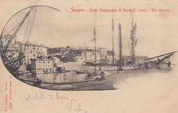 8916-SAVONA-REGIA CAPITANERIA DI PORTO S.LUCIA-VIA GENOVA-FP - Savona
