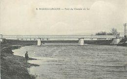 Réf : A-18 Pie Tre-750 : MARSILLARGUES. PONT DU CHEMIN DE FER. - Otros Municipios