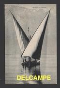 DF / TRANSPORTS / BATEAUX / VOILIER ET SES BATELIERS SUR LE LAC LÉMAN / CIRCULÉE EN 1907 - Sailing Vessels