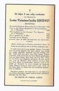 DP BEGIJNTJE SOETEWEY ° WAARSCHOOT 1885 GROOT BEGIJNHOF ST. AMANDSBERG + 1952 - Devotion Images