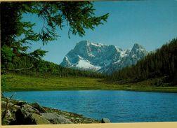 143386 LAGO CALAITA TIMBRO ALBERGO RISTORANTE MIRALAGO CANAL SAN BOVO TN - Trento