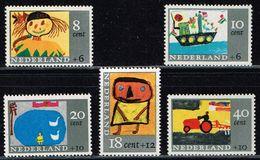 Niederlande 1965, Michel# 850 - 854 ** - Ongebruikt