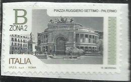 REPUBBLICA ITALY REPUBLIC 2016 PIAZZE D'ITALIA PIAZZA RUGGIERO SETTIMO PALERMO B ZONA 2 MNH - 6. 1946-.. Repubblica