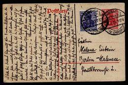 A5038) DR Infla Karte Mit Zusfr. Von Tambach-Dietharz 17.7.20 Nach Berlin - Deutschland