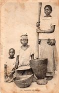 AFRIQUE OCCIDENTALE FRANCAISE SENEGAL FEMME DE DAKAR CARTE PRECURSEUR TIMBREE 1902 - Senegal