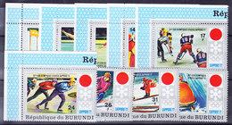 BURUNDI, COB  492/00 ** MNH. JO SAPPORO 72 (4Z212) - Burundi