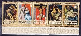 BURUNDI, COB  610/4  ** MNH. TABLEAUX, RELIGION (4Z220) - Burundi