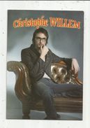 Cp , Musique Et Musiciens , CHRISTOPHE WILLEM , Vierge - Music And Musicians