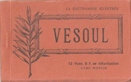 Vesoul - Carnet Complet 12 Cartes éditeur BF (toutes Scannées) - Vesoul