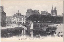 29. QUIMPER. Jonction Du Steir Et De L'Odet. 34 - Quimper
