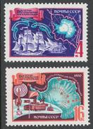 USSR 1970 Sol# 3852-53** BELLINGSHAUSEN-LAZAREV ANTARCTIC EXPEDITION, 150th ANNIV. - Nuevos