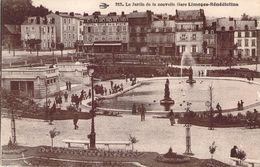 CPA Le Jardin De La Nouvelle Gare Limoges-Bénédictins (animée) PI 2627 - Limoges