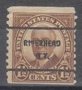 USA Precancel Vorausentwertung Preo, Bureau New York, Riverhead 686-61 - United States