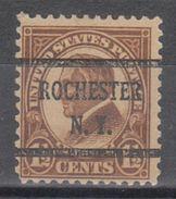 USA Precancel Vorausentwertung Preo, Bureau New York, Rochester 633-43 - Vereinigte Staaten