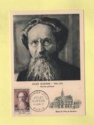 Carte Maximum - N°1113 - Jules Guesde - 1950-59