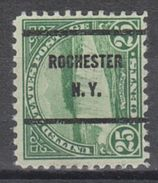 USA Precancel Vorausentwertung Preo, Bureau New York, Rochester 699-61 - United States