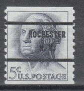 USA Precancel Vorausentwertung Preo, Bureau New York, Rochester 1229-71 - United States