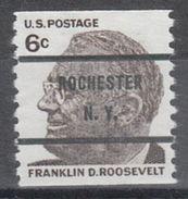 USA Precancel Vorausentwertung Preo, Bureau New York, Rochester 1305-71 - United States