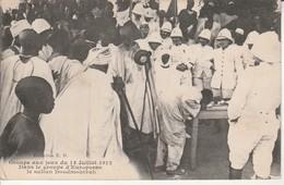 Groupe Aux Jeux Du 14 Juillet 1912-Le Sultan Doodmourrah. - Comoros