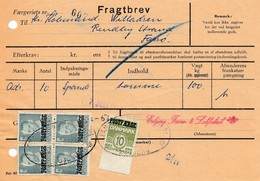 Dänemark: 1958: Fragtbrev Esbjerg Salatfabrik - Unclassified