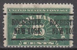 USA Precancel Vorausentwertung Preo, Locals New York, Rochester QE4-219, Better Stamp - Vereinigte Staaten