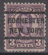 USA Precancel Vorausentwertung Preo, Locals New York, Rochester 583-233 - Vereinigte Staaten