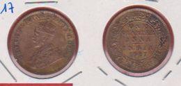 Inde / 1/4 Anna 1917 / KM 512 / TB+ - Inde