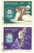 1968 - Panama PA 442/43 Olimpiadi, - Inverno1968: Grenoble