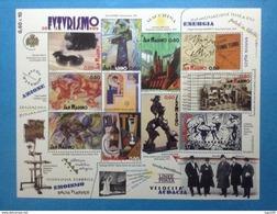 2009 SAN MARINO FOGLIETTO NUOVO STAMP NEW MNH** - CENTENARIO DEL MANIFESTO DEL FUTURISMO - - Hojas Bloque