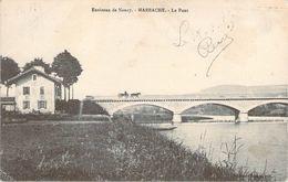 CPA Environs De Nancy Marbache Le Pont (animée) PI 2275 - France