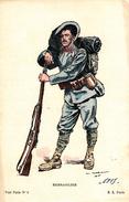 Thématiques 2018 Commémoration Fin De Guerre 1914 1918 Soldat Italie Bersaglier - Guerre 1914-18