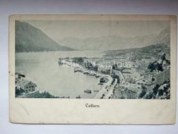 MONTENEGRO DALMAZIA Dalmatia Cattaro Kotor  AK Postcard - Montenegro