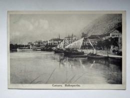 MONTENEGRO DALMAZIA Dalmatia Cattaro Kotor Hafen Barche Boat AK Postcard - Montenegro