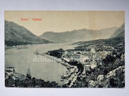 MONTENEGRO DALMAZIA Dalmatia Cattaro Kotor Hafen  AK Postcard - Montenegro