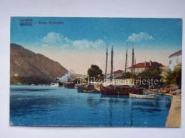 MONTENEGRO DALMAZIA Dalmatia Cattaro Kotor Boka Kotorska D AK Postcard - Montenegro