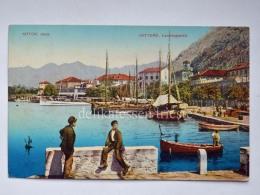 MONTENEGRO DALMAZIA Dalmatia Cattaro Kotor Obala BAMBINI Animata AK Postcard - Montenegro