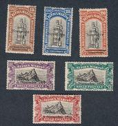 San Marino 1918 S.15 6 Valori  Nuovi Linguellati   Fra.992 - San Marino