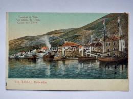 DALMAZIA Dalmatia Croatia Pozdrav Iz Visa Vis Lissa Gruss Aus AK Postcard - Croazia