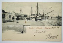 DALMAZIA Dalmatia Croatia SEBENICO SIBENIK Vrulje AK Postcard - Croazia