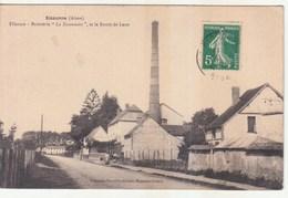 """02- Sissonne - Filature-Brasserie """" La Sissonnaise """", Et La Route De Laon (sp52) - Sissonne"""